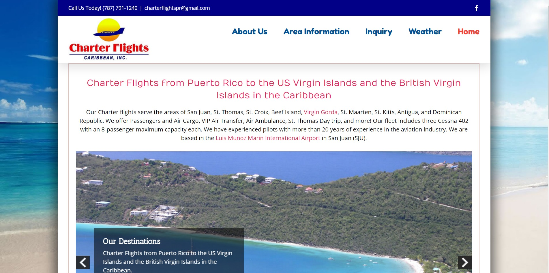 Charter Flights from Puerto Rico to the Caribbean