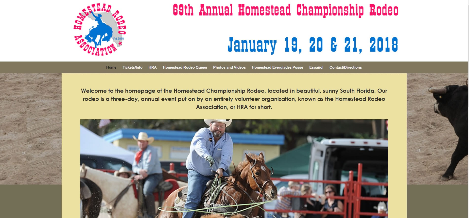 Homestead Rodeo Official Homepage