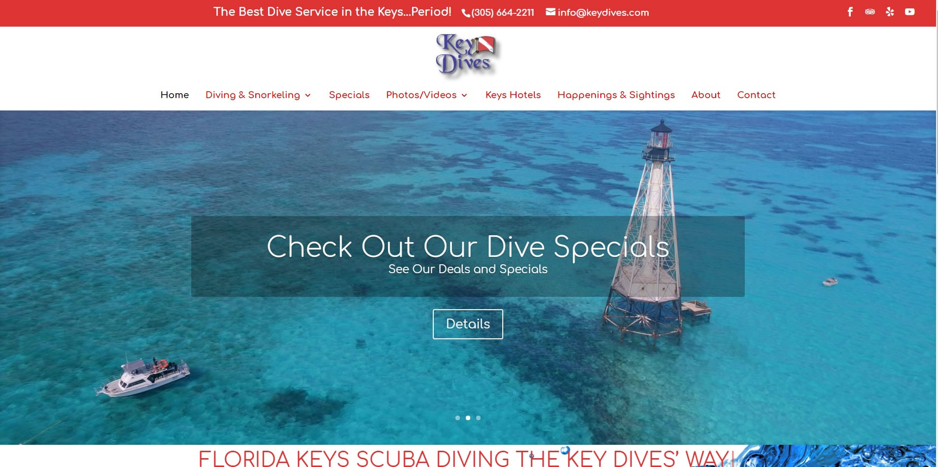 Islamorada Scuba Diving Instruction Key Dives
