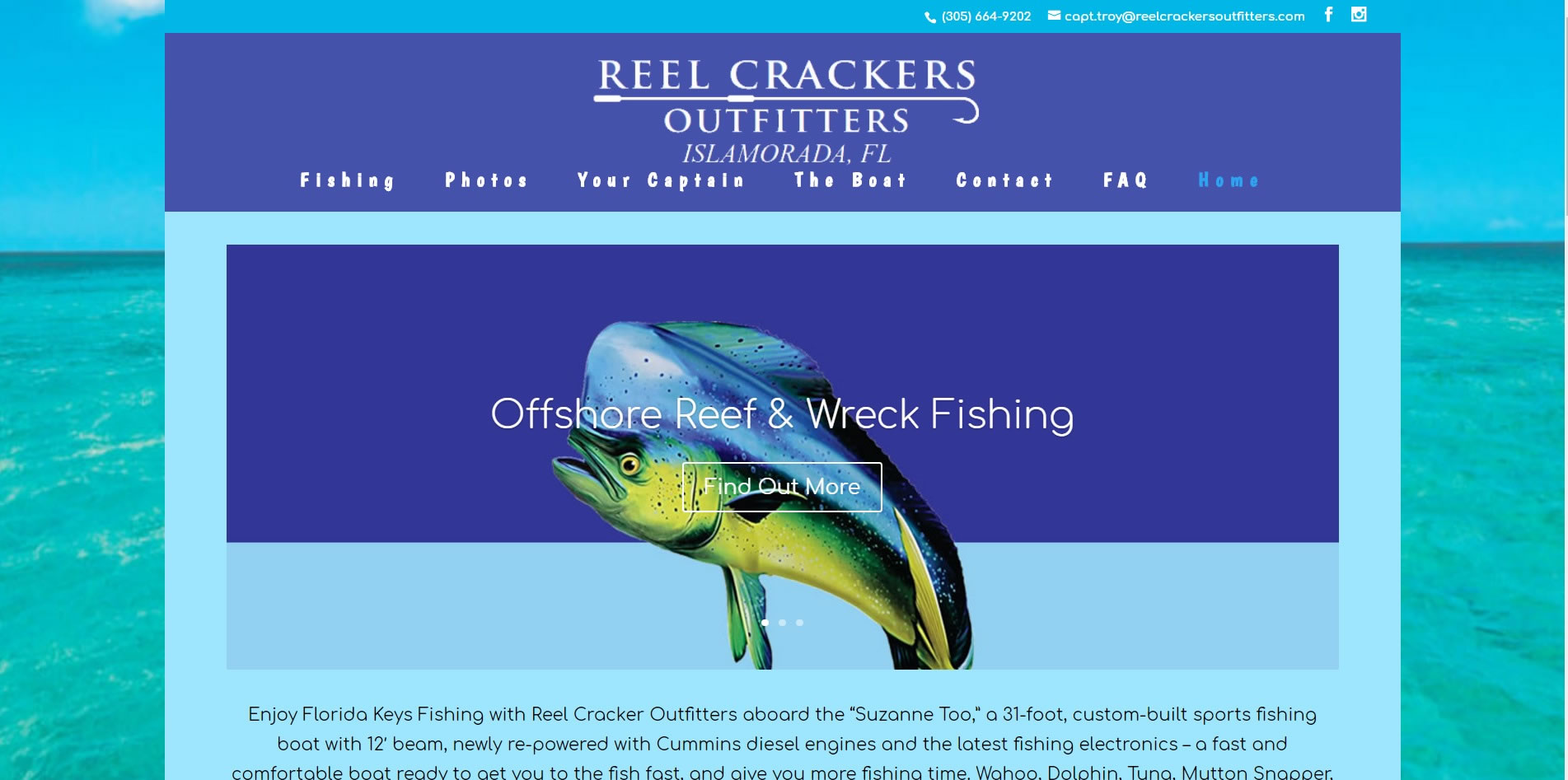 Islamorada fishing in the Florida Keys with Reel Crackers