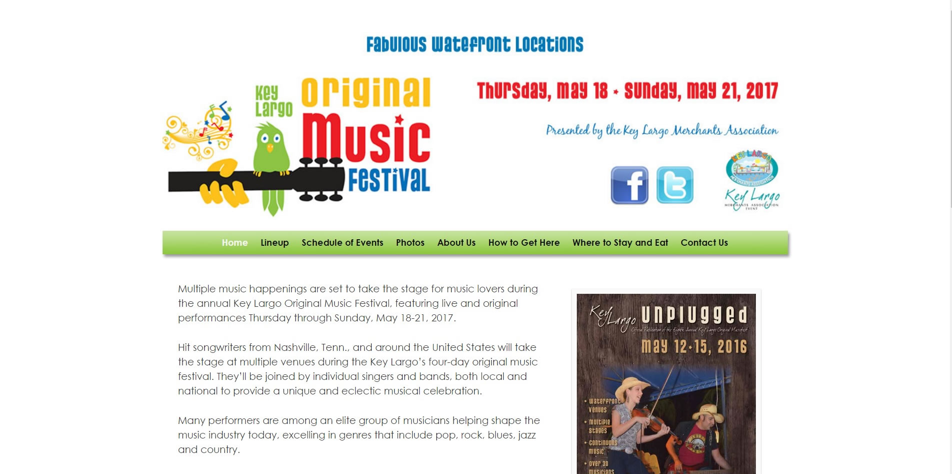 Key Largo Original Music Festival