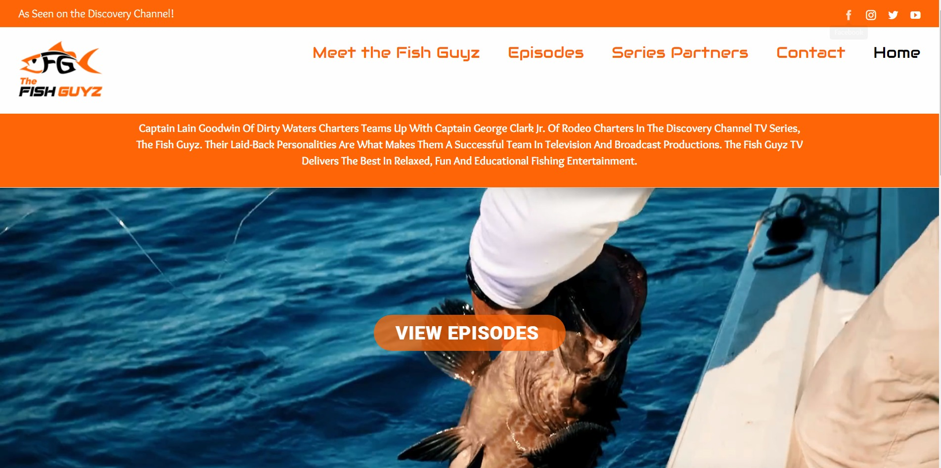 The Fish Guyz TV – As Seen on the Discovery Channel